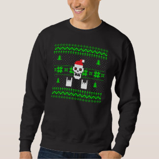 Ugly Metal Christmas Sweater Pullover Sweatshirts