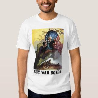 Uncle Sam -- Buy War Bonds Tshirt