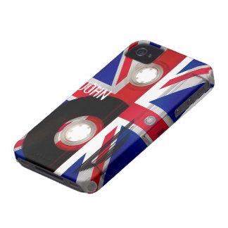 Union Jack Cassette Case-Mate iPhone 4 Cases