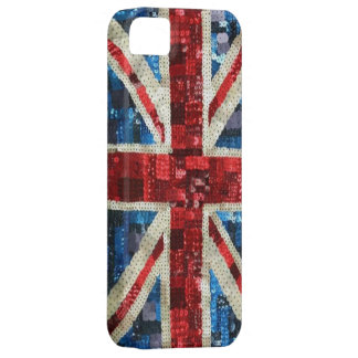Union Jack sequin bling UK English flag iPhone 5 Case For The iPhone 5
