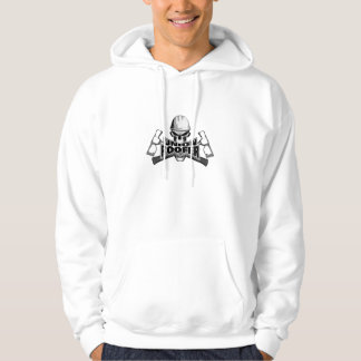 Union Roofer: Skull and Hammers Hooded Pullovers