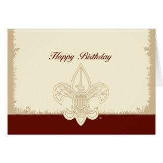 Universal Emblem Happy Birthday Card