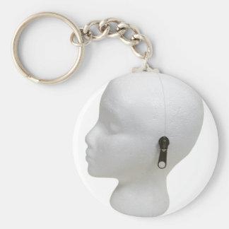 UnlockImagination091409 Basic Round Button Key Ring
