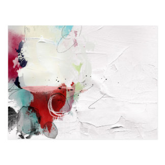 Untitled 1 Abstract Contemporary Postcard
