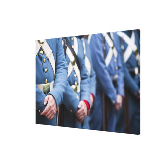 US Civil War-era Marines, military Canvas Prints