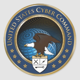 US Cyber Command sticker