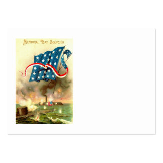US Flag Merrimack Monitor Ironclad Ship Pack Of Chubby Business Cards