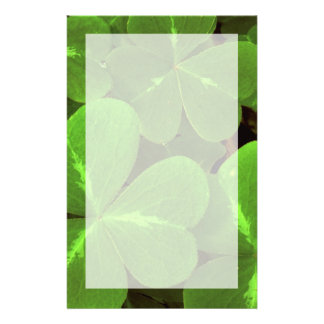 USA, California, Muir Woods. Close-up of clover Stationery Paper