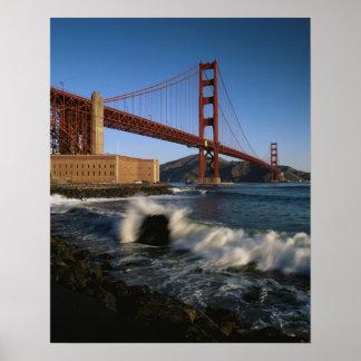 USA, California, San Francisco, Golden Gate Poster