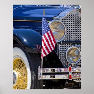 USA, Colorado, Frisco. Vintage Packard auto Poster