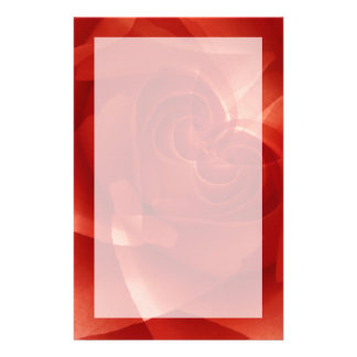 USA, Colorado, Lafayette. Red rose montage Personalised Stationery