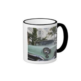 USA, Florida, Miami Beach: South Beach, 1956 3 Ringer Mug
