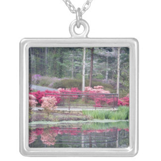 USA, Georgia, Pine Mountain. Viewing area by Square Pendant Necklace