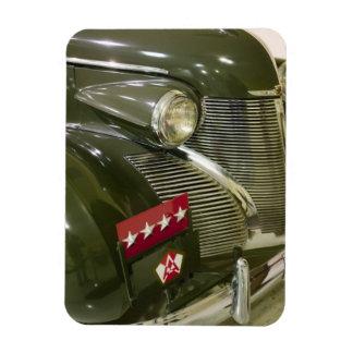 USA, Kentucky, Fort Knox: Patton Museum of Rectangular Photo Magnet