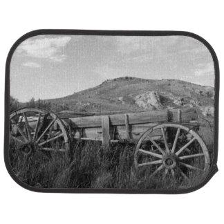 USA, Montana, Bannack State Park Old wagon made Car Mat