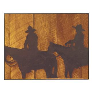 USA, Montana, Boulder River Cowboys on horses