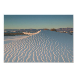 USA, New Mexico, White Sands National Poster