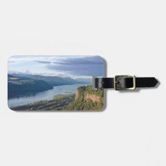 USA, Oregon, Columbia River Gorge, Vista House Tags For Luggage