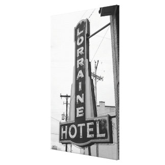 USA, Tennessee, Memphis: National Civil Rights Canvas Prints