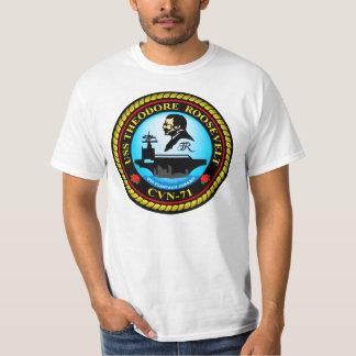 USS Theodore Roosevelt T-shirts