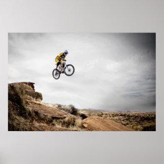 Utah mountain bike poster