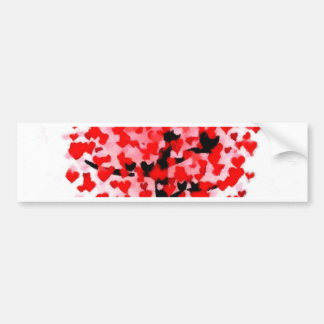 valentines day love romance soul mate tree nature bumper sticker
