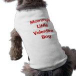 VALENTINE'S DAY SLEEVELESS DOG SHIRT