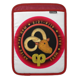 Valxart 1961 2021 MetalBull zodiac Aries iPad Sleeve