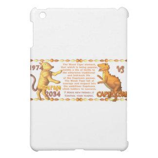 ValxArt 1974 2034 Chinese zodiac wood tiger people iPad Mini Cover