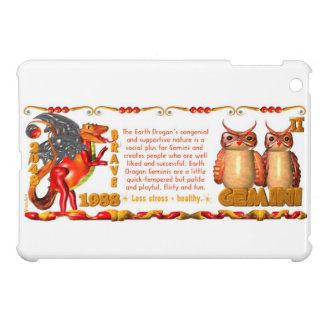 Valxart 1988 2048 Earth Dragon zodiac Gemini iPad Mini Cases