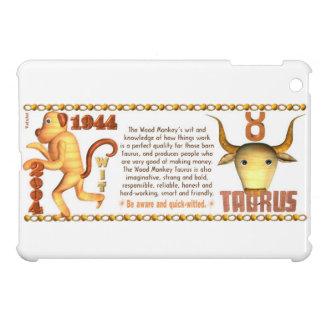 Valxart 2004 1944 2064 zodiac Wood Monkey Taurus iPad Mini Case