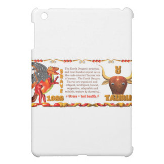 Valxart Zodiac Earth Dragon Aquarius born 1988 iPad Mini Case