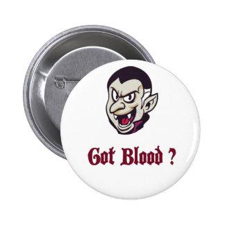 Vampire Got Blood Design 6 Cm Round Badge