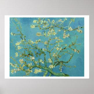 Van Gogh   Almond Blossom   1890 Poster