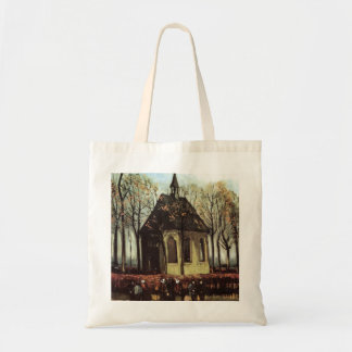 Van Gogh Congregation Leaving the Reformed Church Budget Tote Bag