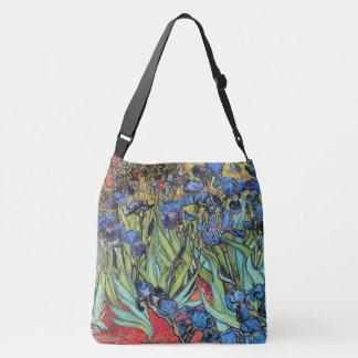 Van Gogh Irises Flowers Floral Garden Tote Bag