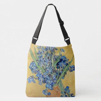 Van Gogh Irises Vase Flowers Still Life Dutch Art Tote Bag