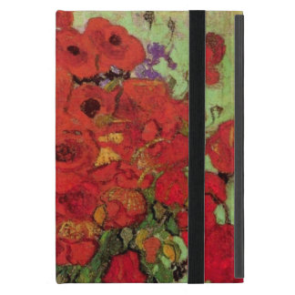 Van Gogh Red Poppies and Daisies, Fine Art Flowers Cover For iPad Mini