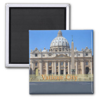 Vatican City Square Magnet