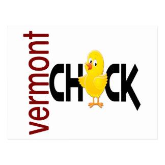 Vermont Chick 1 Postcard