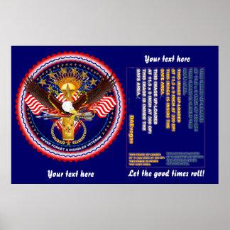 """Veteran 60"""" x 40"""", Poster Re-Size"""