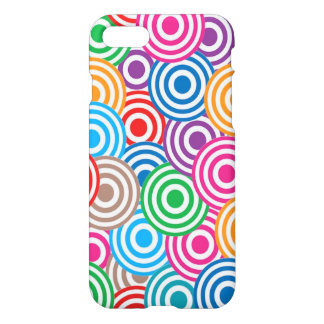 Vibrant abstract circles iPhone 7 case