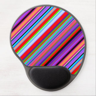 Vibrant Stripes. Gel Mouse Pad