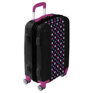 Vibrant Trendy Polka Dot Pattern Luggage