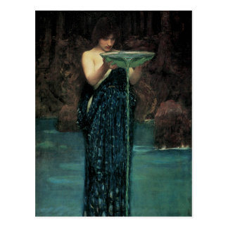 Victorian Fine Art, Circe Invidiosa by Waterhouse Postcard