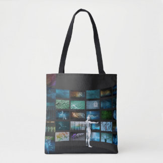 Video Marketing Across Multiple Channels Tote Bag