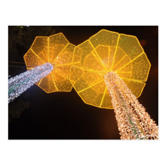 Vietnamese New Year streetlights Postcard