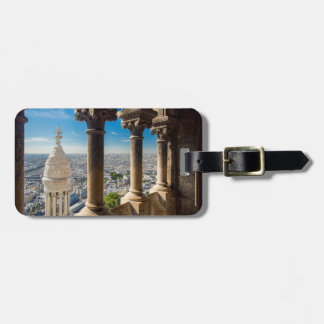 View from the top of Basilique du Sacre Coeur Bag Tag
