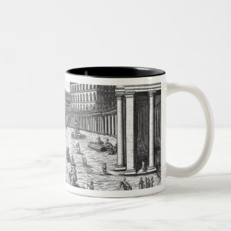 View of St. Peter's, Rome Two-Tone Mug