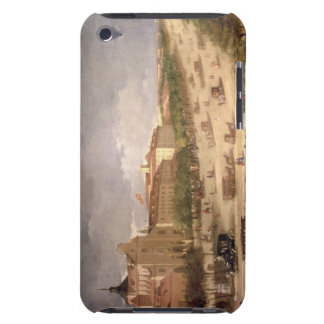 View of the Calle de Alcala, Madrid (oil on canvas Case-Mate iPod Touch Case